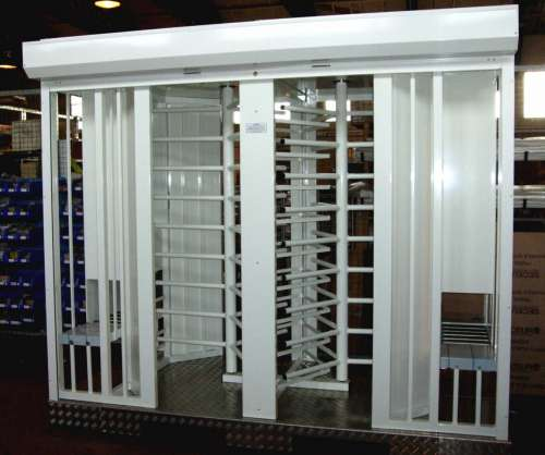 493 Double Airlock Biometric Turnstile