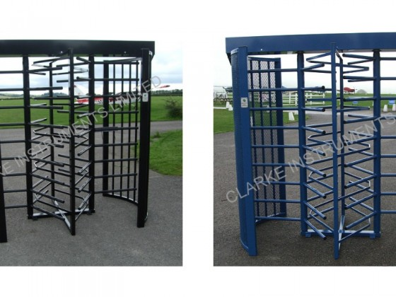 480A-209 Double Full Height Turnstile