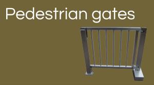 Clarke Instruments Pedestrian Gates button
