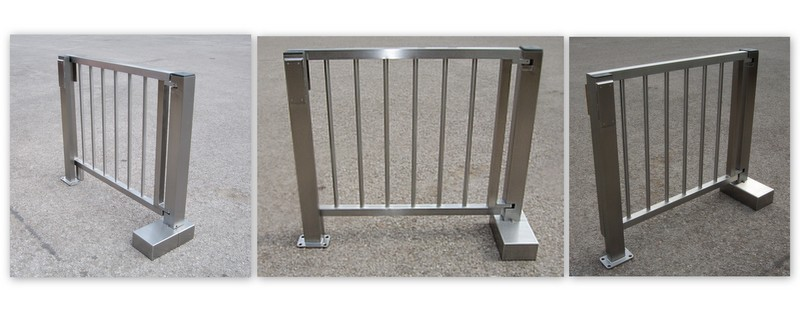 185 Medium Duty Internal Swing Gate