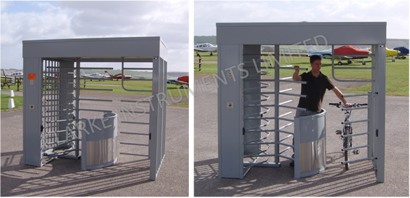481-200 Combined Pedestrian and Cycle Turnstile